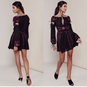 *RARE* FOR LOVE & LEMONS NICCOLA DRESS FREE PEOPLE